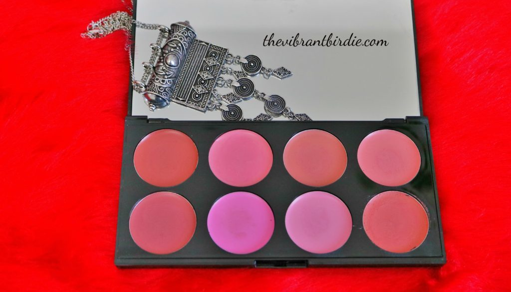 Makeup Revolution London- All About Cream Blush Palette: Review & Swatches