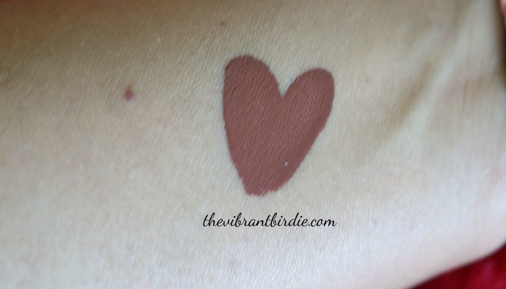Chambor Extreme Wear Transferproof liquid lipstick- shade 484 Truffle- Reviews and Swatches