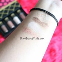 MAC Nutcracker Pigments & Glitter Kit- Review and Swatches