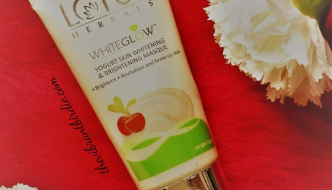 Lotus Herbals Whiteglow Yougurt Skin Brightening Masque Product Review