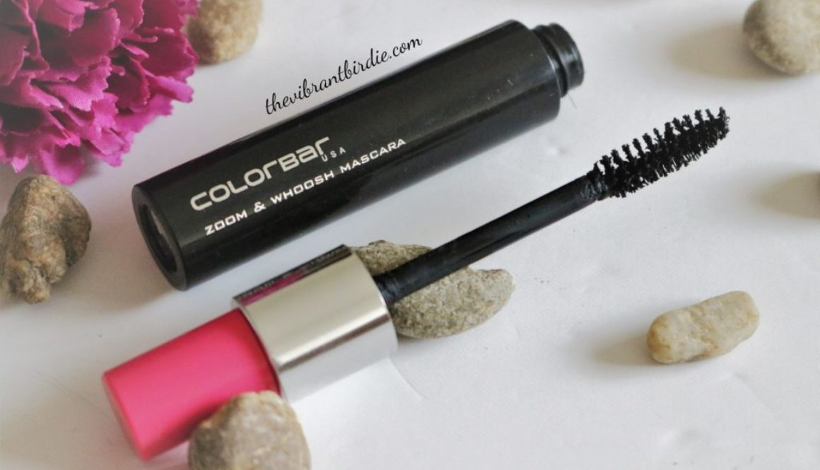 Colorbar Zoom and Whoosh mascara, Black Sin- Reviews and Swatches