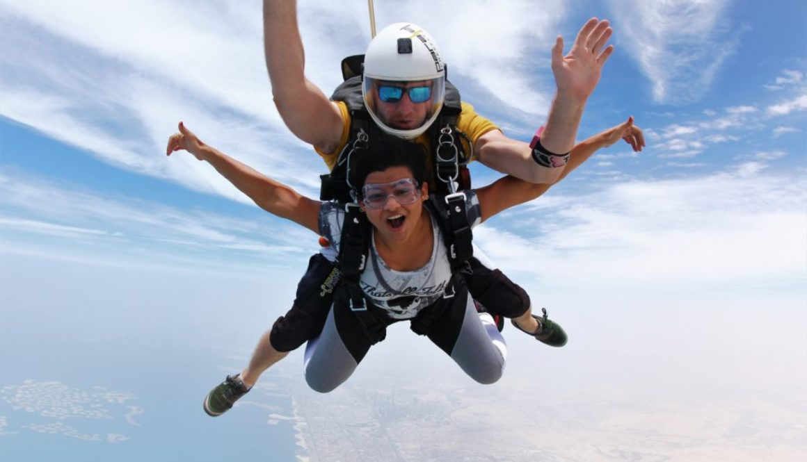Feel the rush | Tandem Skydive Dubai- 2018