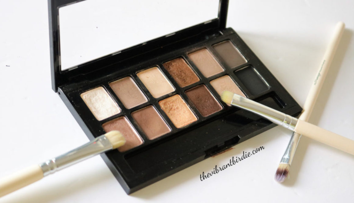 """""""The Nudes"""" Palette from Maybelline- Reviews and Swatches"""