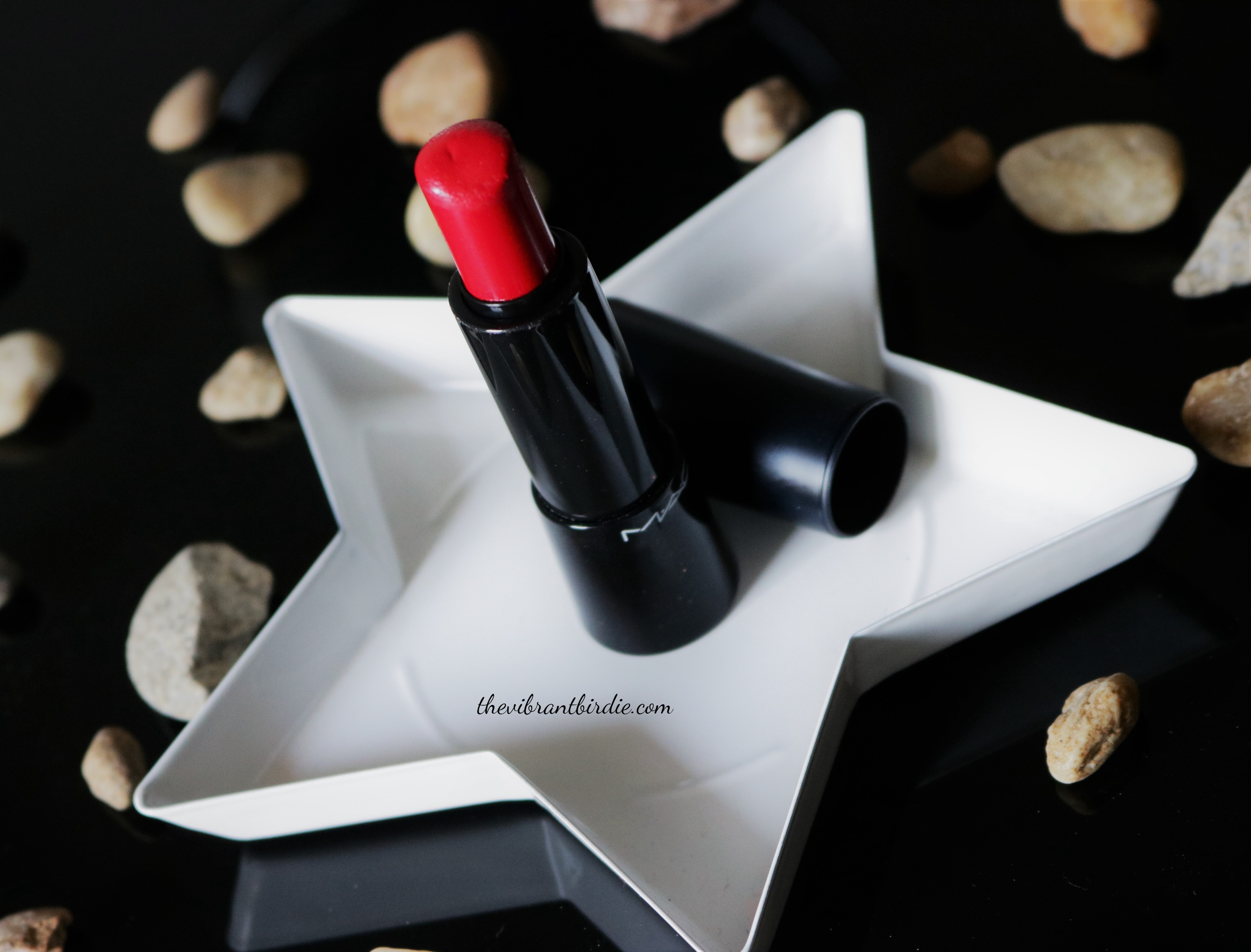MAC Mineralize Rich Lipstick in Shade Everyday Diva- Review & Swatches