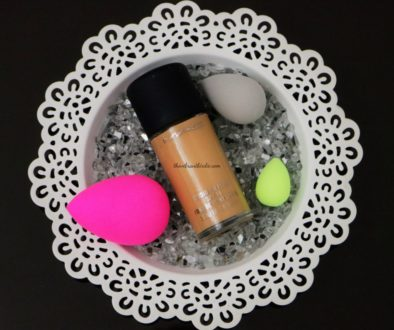 MAC Studio Fix Fluid Foundation (SPF 15) Shade NC 40- Review and Swatches