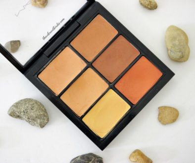 MAC Studio Conceal and Correct palette in shade Medium deep- Review & Swatches