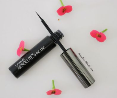 Lakme Absolute Shine Line Black Eyeliner- Review & Swatches