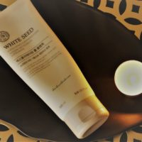 White Seed Exfoliating Foam Cleanser- Review & Swatches