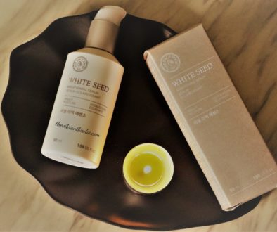 White Seed Brightening Serum Review & Swatches