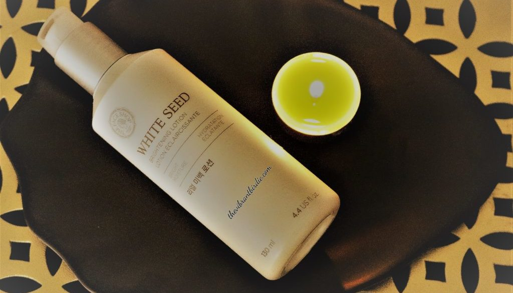 White Seed Brightening Lotion Review