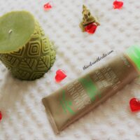 Essentials Oil 'Almond & Vanilla' rich Olive oil body cream- Review & Swatches