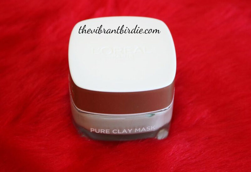 L'Oreal Paris- Pure clay mask- 3 pure clay + Eucalyptus review