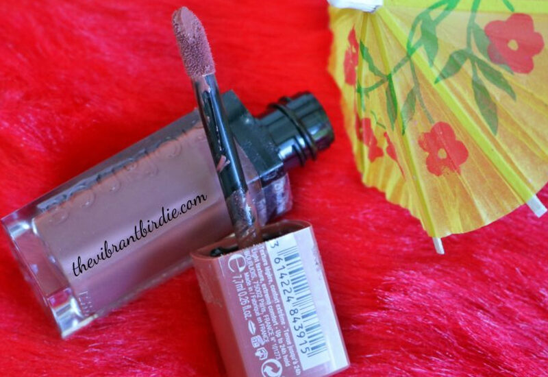 Bourjois Rouge Edition Velvet shade 29, Nude York- Reviews and Swatches