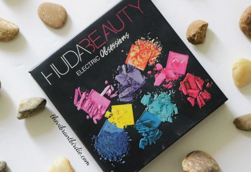 Huda Beauty Electric Obsession Palette Review and Swatches