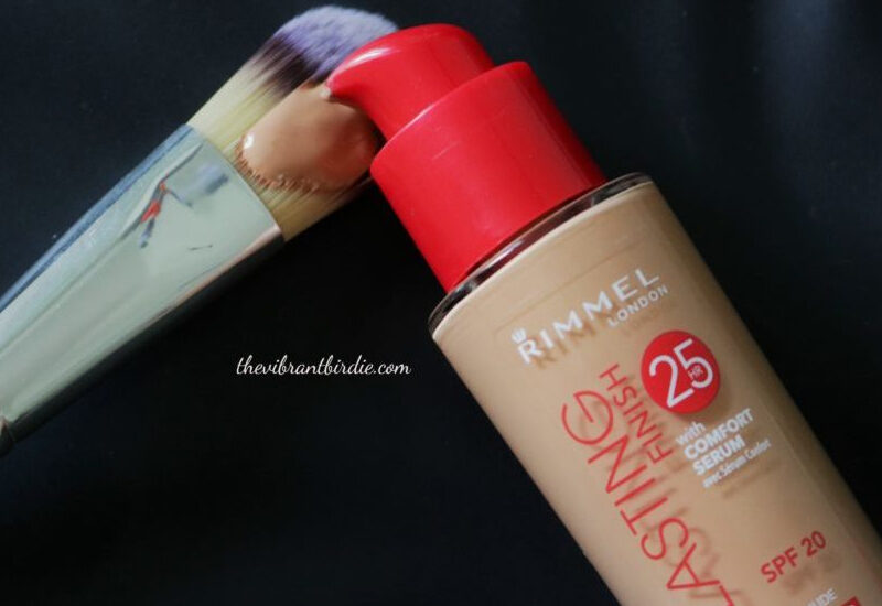 Rimmel London Lasting Finish 25hr foundation in shade 303(True Nude) Review & Swatches