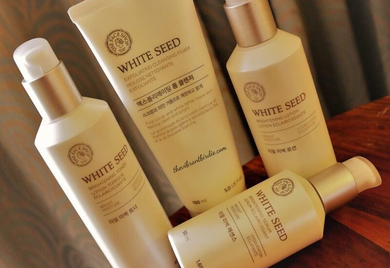 White Seed Brightening Toner Review