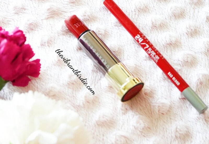 The Ultimate Pair | Bad Blood | Urban Decay |Lip Pencil and Lipstick | Review & Swatches